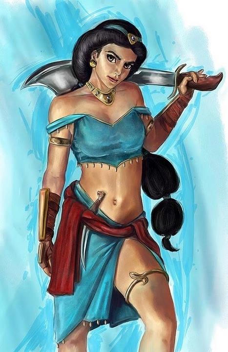 Princesas Disney Guerreiras de Videogames | Imagens Decoupage | Animated... | Scoop.it