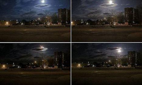 'Huge' meteor soars across the night sky above Maine   StewiackeNews   Scoop.it