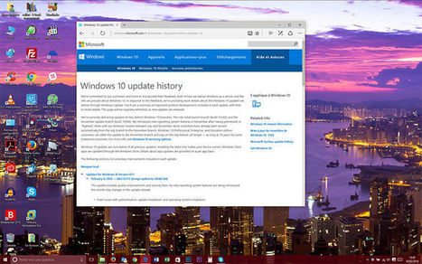 Windows 10 ose enfin afficher ses derniers changements | Freewares | Scoop.it