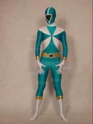Lake Blue And White Lycra GoGoV Power Ranger Zentai Costume [c184] - $49.00 : Buy Zentai,zentai suits,zentai costumes,lycra bodysuit,bodysuit spandex,cheap,zentai wholesale,from zentaiway.com   power ranger costumes   Scoop.it