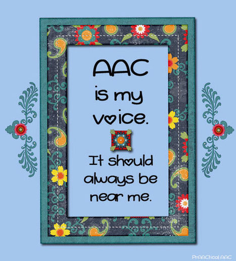 AAC Is My Voice | AAC: Augmentative and Alternative Communication | Scoop.it