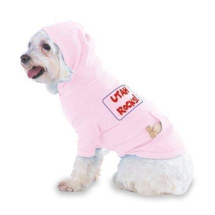 Dog Runs Utah : UTAH ROCKS! Hooded (Hoody) T-Shirt with pocket for your Dog or Cat Medium Pink | everything pink | Scoop.it