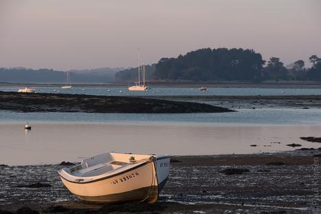 Toilapol - Bretagne - Finistère :  fin de journée à L'Ile-Tudy à marée basse (3 photos) | photo en Bretagne - Finistère | Scoop.it