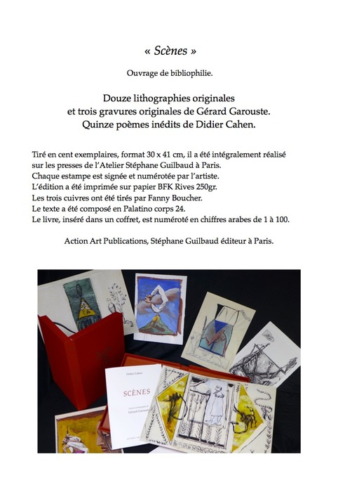 (agenda) et (parution) 15 octobre, Paris, Didier Cahen   Poezibao   Scoop.it