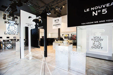 Chanel beauté s'installe sur les Champs-Elysées | Marketing du luxe de la mode et du design | Scoop.it