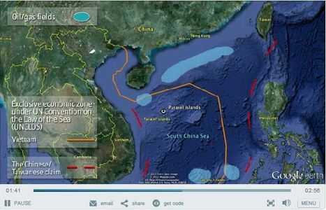East Asia's maritime disputes | Human Geography Too | Scoop.it