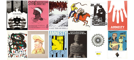 Vinçon   50 Years of Poster and art committed with Amnesty International   PaginaUno - Arte&Design   Scoop.it