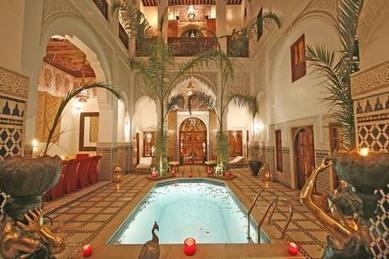Riad piscine Marrakech | mindevs | Scoop.it