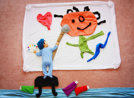 Una mamma creativa trasforma i sonnellini di suo figlio in arte - OLTREUOMO | Genitori e Figli | Scoop.it