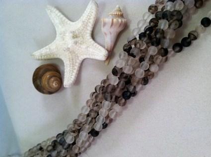 4mm Round Sea Glass Jewelry Supplies Beads Design Fashion Beach Glass | AvendesoraArtJewelry - Jewelry on ArtFire | HandmadeArtJewelry | Scoop.it