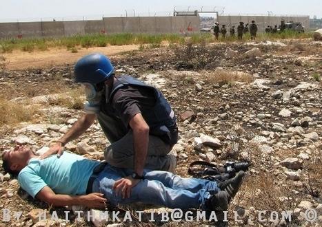 Soldiers Attack Bil'in's WeeklyProtest   Occupied Palestine   Scoop.it