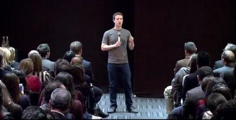 Mark Zuckerberg : « Je n'ai pas conçu Facebook pour faire de l'argent » | social networking | Scoop.it