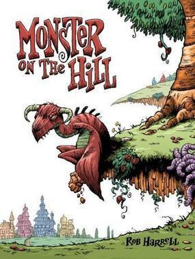 LOVING and Learning from MONSTER ON THE HILL | Graphic Novels in Classrooms: Promoting Visual and Verbal LIteracy | Scoop.it