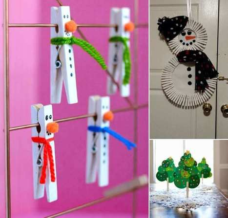 10 Super Cute Holiday Clothespin Crafts | Amazing interior design | Scoop.it