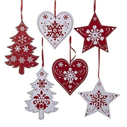 Wooden Scandinavian Style Christmas Tree Decorations | Home and Garden | Scoop.it