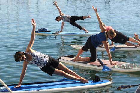 Take yoga into nature with stand-up paddleboards - Contra Costa Times | Discover Boating | Scoop.it
