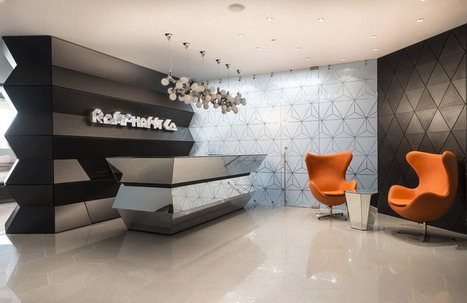 Innovative geometric structure of pharmaceutical office by Geometrix Design | Architecture & Interior Design Archives | Scoop.it