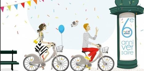 Vélib' fête ses 6 ans | Facile à vivre | Scoop.it