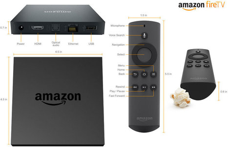 Amazon Launches $99 Fire TV Android Media Player Powered by Qualcomm Snapdragon Quad Core SoC | Embedded Systems News | Scoop.it