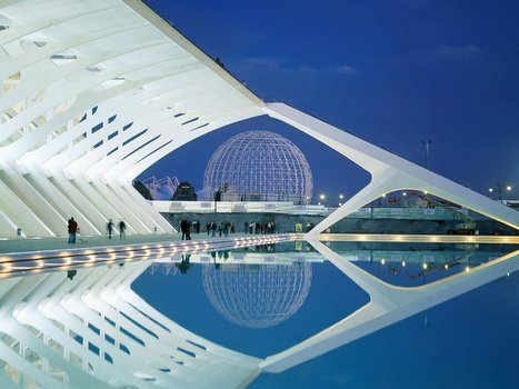 Valencia Spain Modern Architecture - HD Wallpapers Widescreen - 1600x1200 | Form, Structure & Complex Geometry Innovations | Scoop.it