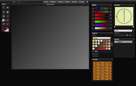 Sketchpad - Online Paint/Drawing application | CRÉER - DESSINER EN LIGNE | Scoop.it