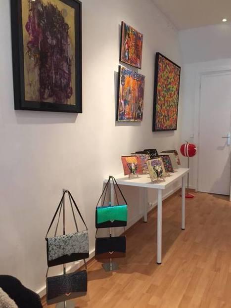Prolongation de l'exposition Versa Versa à la Bab's galerie | Les créations de Tarek | Scoop.it