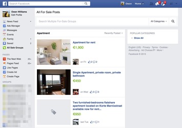 Facebook taking on eBay, now showing all second-hand goods | Activer l'avenir | Scoop.it