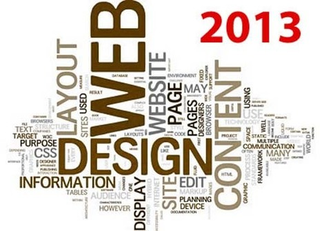 Six Expected Web Design Trends in 2013 | Free Web Page Designing and Hosting | Scoop.it