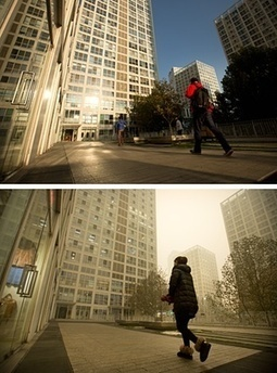 China's vacuum-cleaner artist turning Beijing's smog into bricks | An odd mix of stuff | Scoop.it