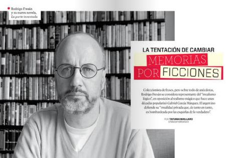 Rodrigo Fresán: La tentación de cambiar memorias por ficciones | Periodismo cultural narrativo (crónica, reportaje, entrevista y nuevos formatos) | Scoop.it