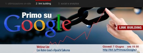 Primo Su Google 2: Link Building | EditareImmagini | Scoop.it
