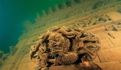 Men have discovered a buried city under water in China! | Soceity & Culture | Scoop.it