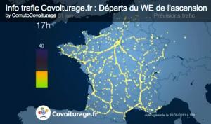 Covoiturage.fr lance la visualisation du trafic en temps futur | FrenchWeb.fr | Sustainable Transportation | Scoop.it
