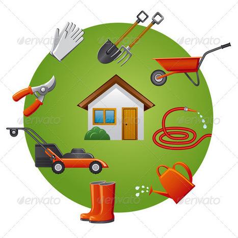 Garden Tools Icon Set (Icons) | GFX Database | GFX Download | Scoop.it