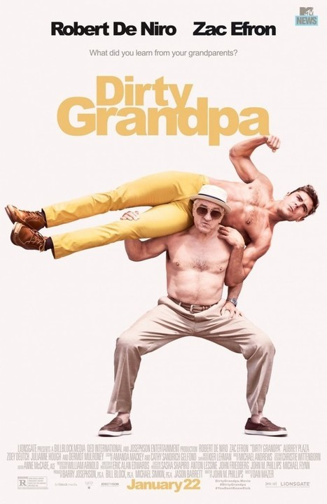Movie Review: Dirty Grandpa - This Literally Might Be The Unfunniest Film of the Year. - Movie Smack Talk | Movies | Scoop.it