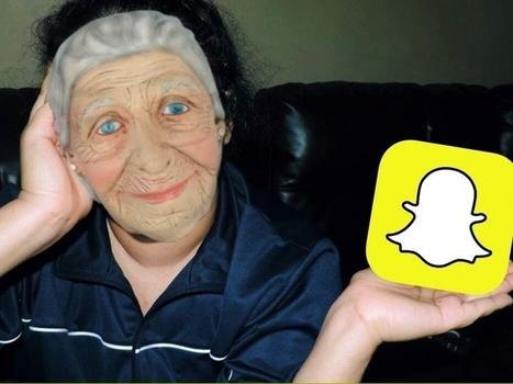 Snapchat sí es app para 'viejos' - ITespresso.es | Social Media | Scoop.it