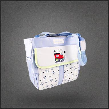 Sac épaule porte biberons de bébé isotherme bleu | Boutique Muku | Scoop.it