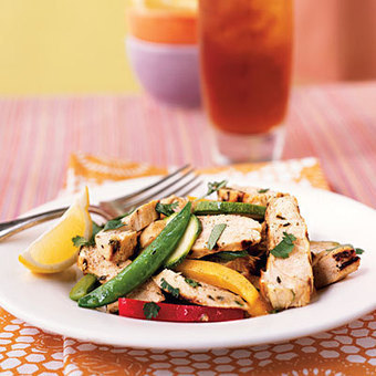 Grilled Chicken and Lemon Salad Recipe | Abiye Modelleri | Scoop.it