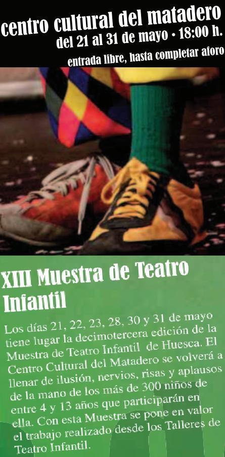 XIII  Muestra de Talleres de Teatro Escolar  HUESCA 2012 | Teatro en la escuela | Scoop.it
