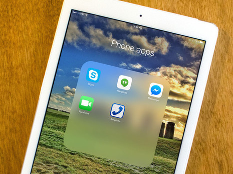 Best phone apps for iPad: FaceTime Audio, Google Hangouts, Skype, and more! | Tech | Scoop.it