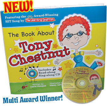 The Book About Tony Chestnut - The Learning Station | Water the mind - READ | Scoop.it