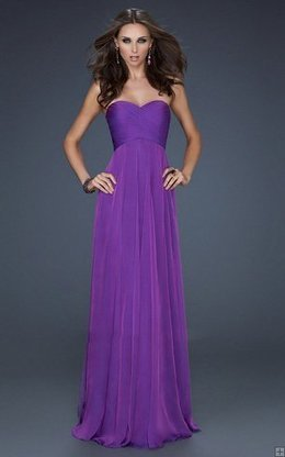 La Femme 17111 Electric Purple Strapless Draped Long Evening Dress 2013 [La Femme 17111 Electric Purple] - $177.00 : La Femme Outlet, 60% Off La Femme Sale Online | gownprincess | Scoop.it