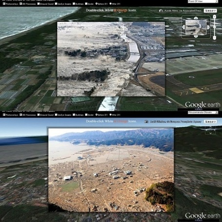Documenting the Japanese Earthquake With Maps - Design - The ... | Geographic Information Technology | Scoop.it
