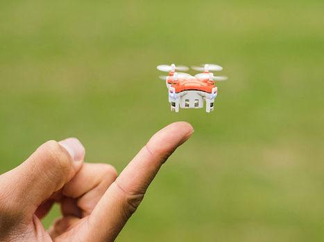 TRNDlabs dévoile le plus petit drone au monde | Une nouvelle civilisation de Robots | Scoop.it