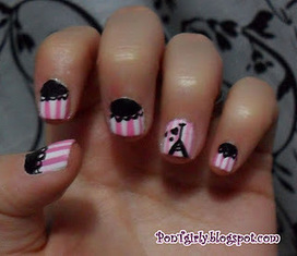 PonTgirly: NAIL ART: Love Paris! | VIM | Scoop.it