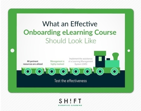 What an Effective Onboarding eLearning Course Should Look Like | APRENDIZAJE | Scoop.it