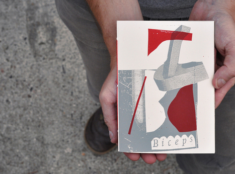 Biceps - Palefroi - handcrafted books and art prints - silkscreen - berlin | Graphic Design | Scoop.it
