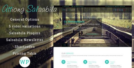Salsabila One Page WordPress - WordpressThemeDB | WordpressThemeDatabase | Scoop.it