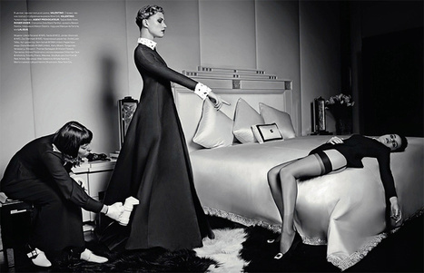 'Bedtime stories' by Nigel Barker for Numero Magazine Russia September 2013 | The Fashionography | Fashion | Scoop.it