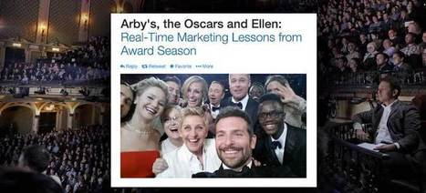 Arby's, the Oscars and Ellen: Real-Time Marketing Lessons from Award Season | *All Things Social* | Scoop.it